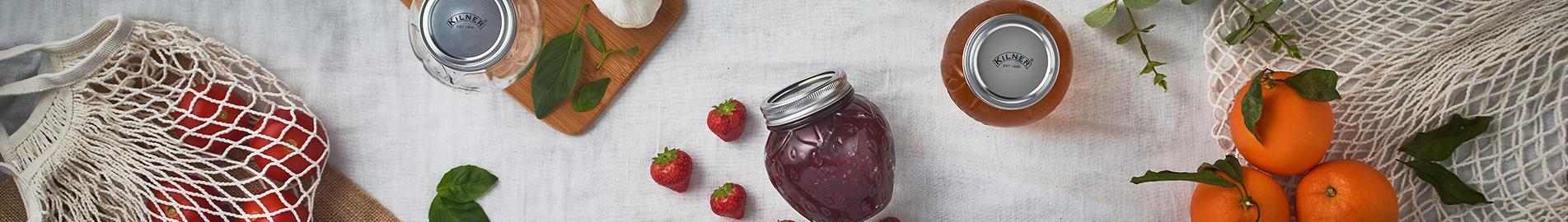 Fruit Preserve Jars