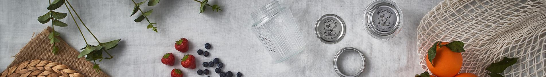 Vintage Preserve Jars