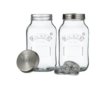 Image for Set Of 2 Fermentation Jars 1 Litre