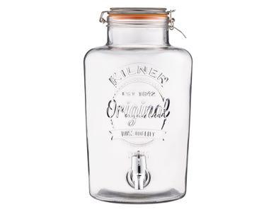 Kilner® Clip Top 8 Litre Round Drinks Dispenser