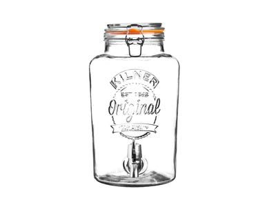 Image for Clip Top Round Drinks Dispenser 5 Litre