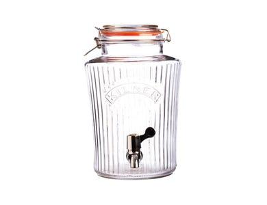 Image for Clip Top Vintage Drinks Dispenser 5 Litre
