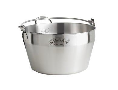 Kilner® Stainless Steel 8 Litre Preserving Pan