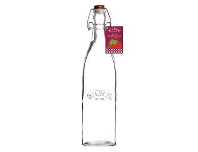 Image for Clip Top Square Bottle 1 Litre