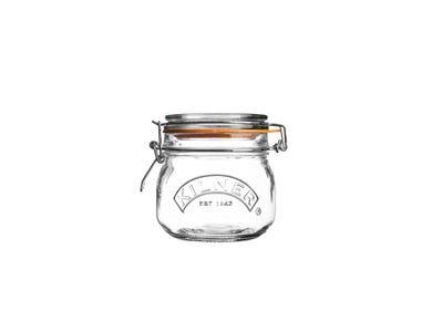 Kilner® 0.5 Litre Round Clip Top Jar