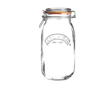 Kilner® 3 Litre Round Clip Top Jar