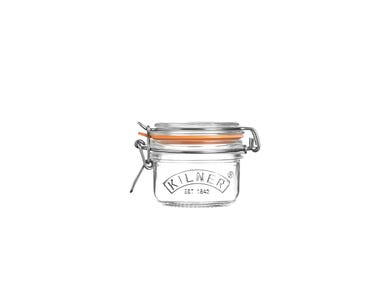 Kilner® 0.125 Litre Round Clip Top Jar