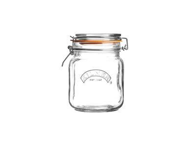 Kilner® 1 Litre Square Clip Top Jar