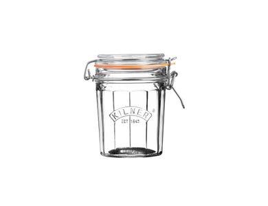 Kilner® Facetted 0.45 Litre Clip top Jar