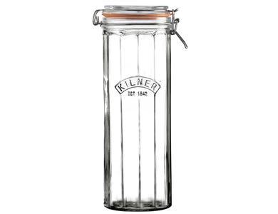 Kilner® Facetted 2.2 Litre Clip Top Jar