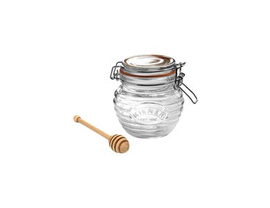 Kilner® Honey Pot with honey drizzlier.