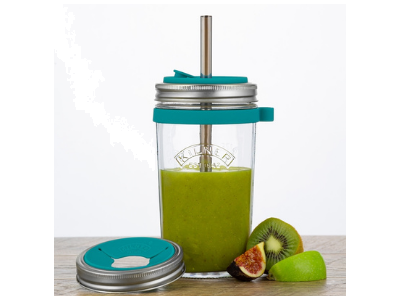 Kiwi, Fig, Banana and Apple Smoothie