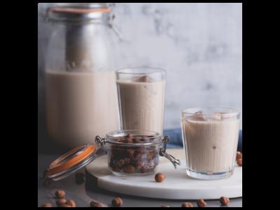 Cold Brew Hazelnut Milk Coffee
