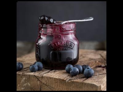 Sugar Free Blueberry Jam