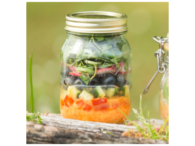 Mango & Chilli Salad Jar