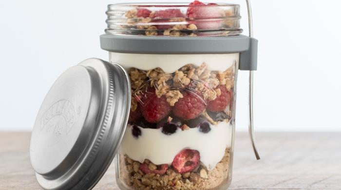 Granola Breakfast Jar