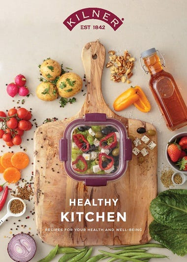 Kilner Healthy Kitchen Guide
