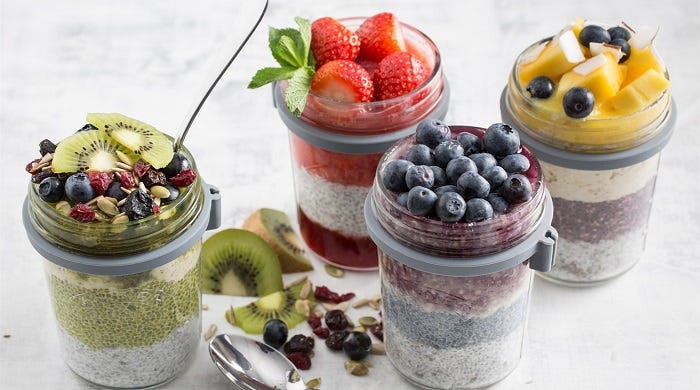 Kilner Breakfast Jars
